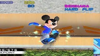 Disney Sports Skateboarding - GameCube Gameplay (720p60fps)