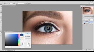 Урок Photoshop. Профессиональная ретушь глаз. Как сделать глаза красивыми и выразительными