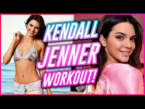 KENDALL JENNER'S MODEL WORKOUT?! | Work It