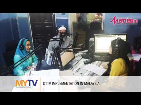 Manis FM interview with MYTV on Digital Terrestrial TV Imple