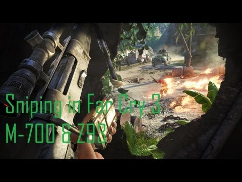 Sniping in Far Cry 3 - M-700 & Z93 (Singleplayer)