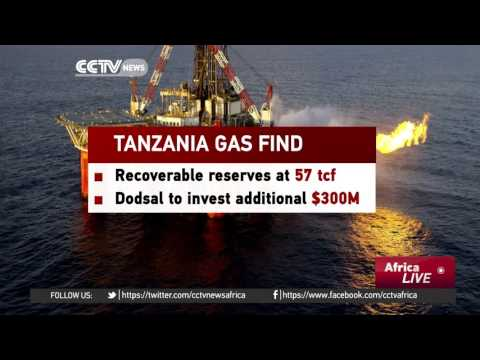 2.7 trillion cubic feet of gas deposits discovered in Tanzania