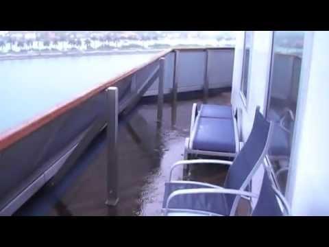 Carnival Glory Cabin 8448 Aft Wrap Balcony Youtube