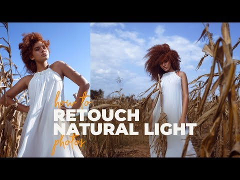 Natural Light Photo Retouching Tutorial