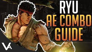 SFV - Ryu Combos For Arcade Edition! New Basic BNB & V-Trigger Combos For Street Fighter 5