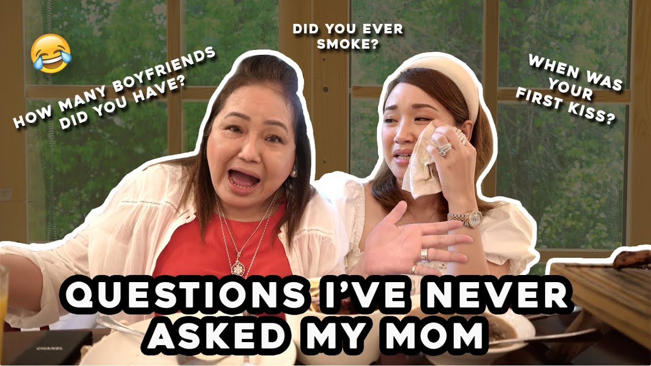 Questions I've Never Asked My Mom | I cried | Emotional | Vlog | Happy Birthday Mom