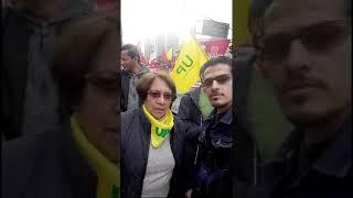 MARCHA 1 DE MAYO 2018 BOGOTÁ (2 DE 7): SALUDO DE AIDA AVELLA (UP)