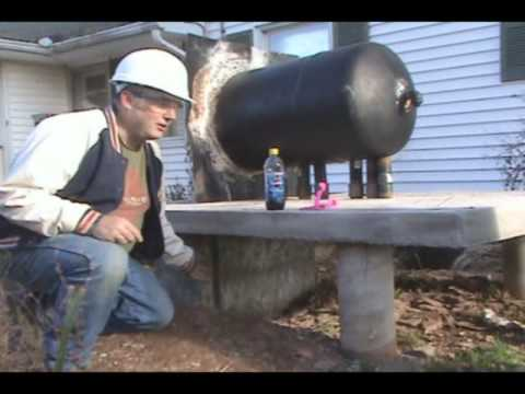 Making an Outdoor Wood Furnace with Bob - Part 2 - YouTube