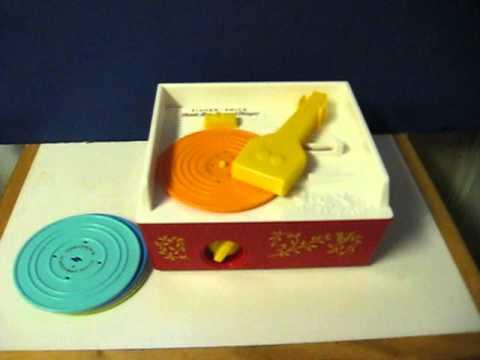 Sale Item Demo - Fisher Price Music Box Record Player - 2010 Remake