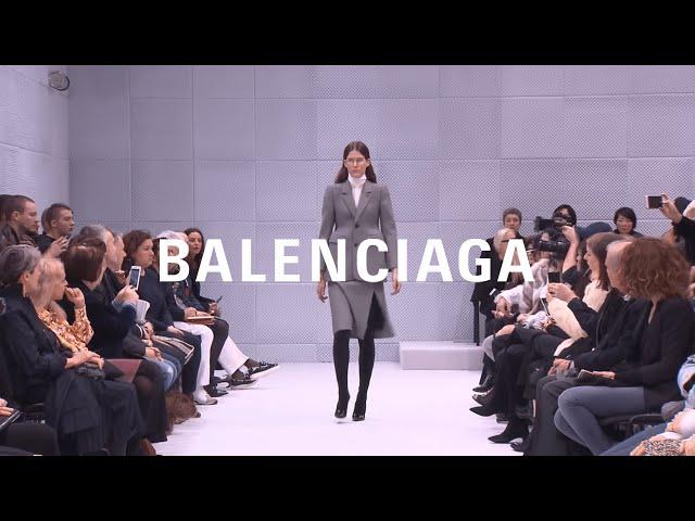 BALENCIAGA FALL WINTER 2016