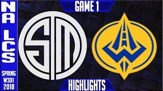 Video TSM vs GGS Highlights | NA LCS Week 3 Spring 2018 W3D1 | Team Solomid vs Golden Guardians Highlights download MP3, 3GP, MP4, WEBM, AVI, FLV Juni 2018