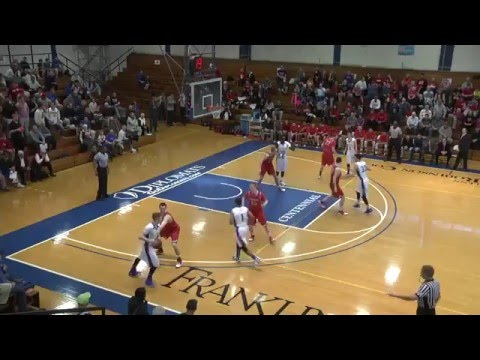 Dickinson College Men's Basketball vs. Franklin and Marshall February 2016