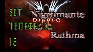 Diablo 3 Set de Temporada 15 Nigromante Rathma build GR