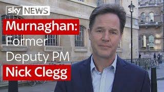 Murnaghan: Former Deputy PM Nick Clegg