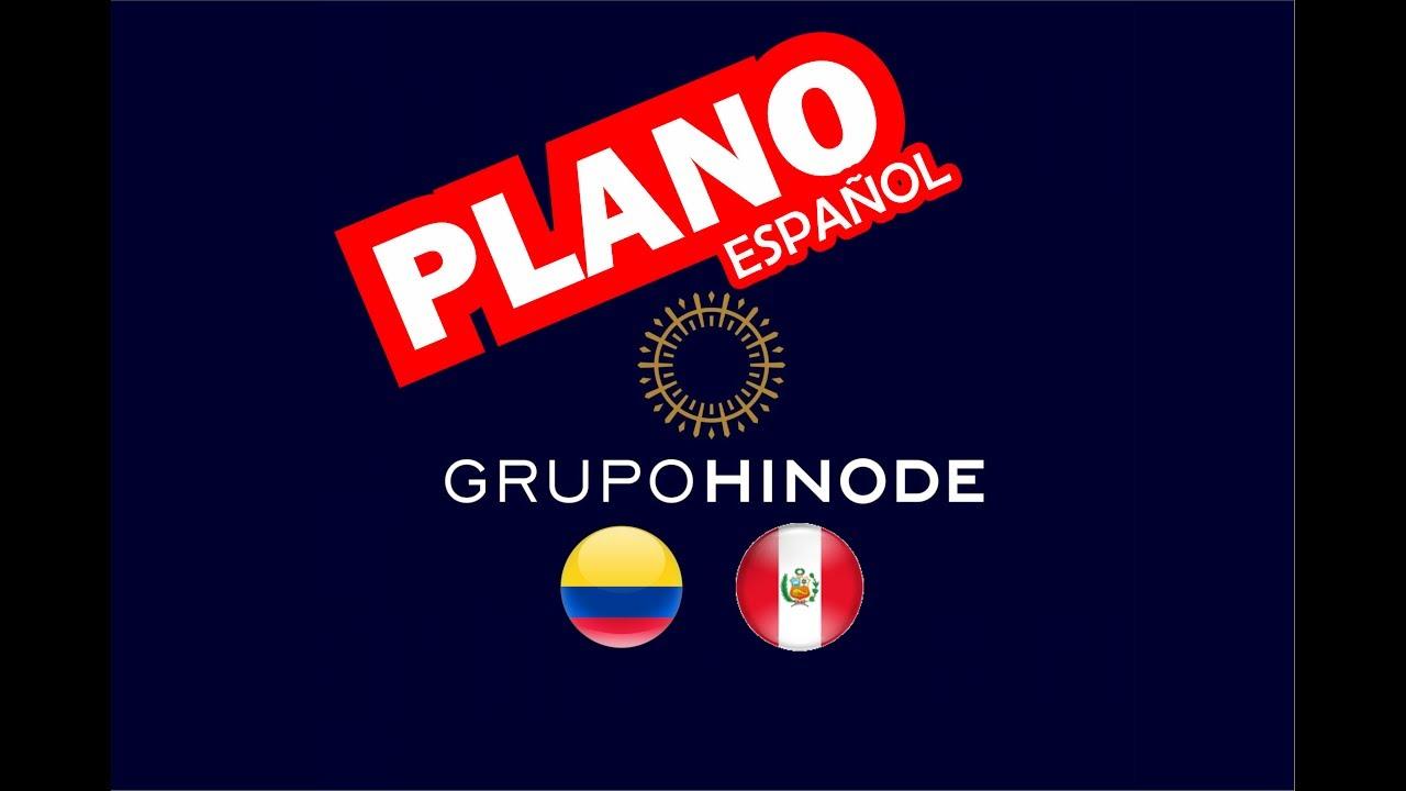 Plano Hinode Em Espanhol Colombia Peru Youtube