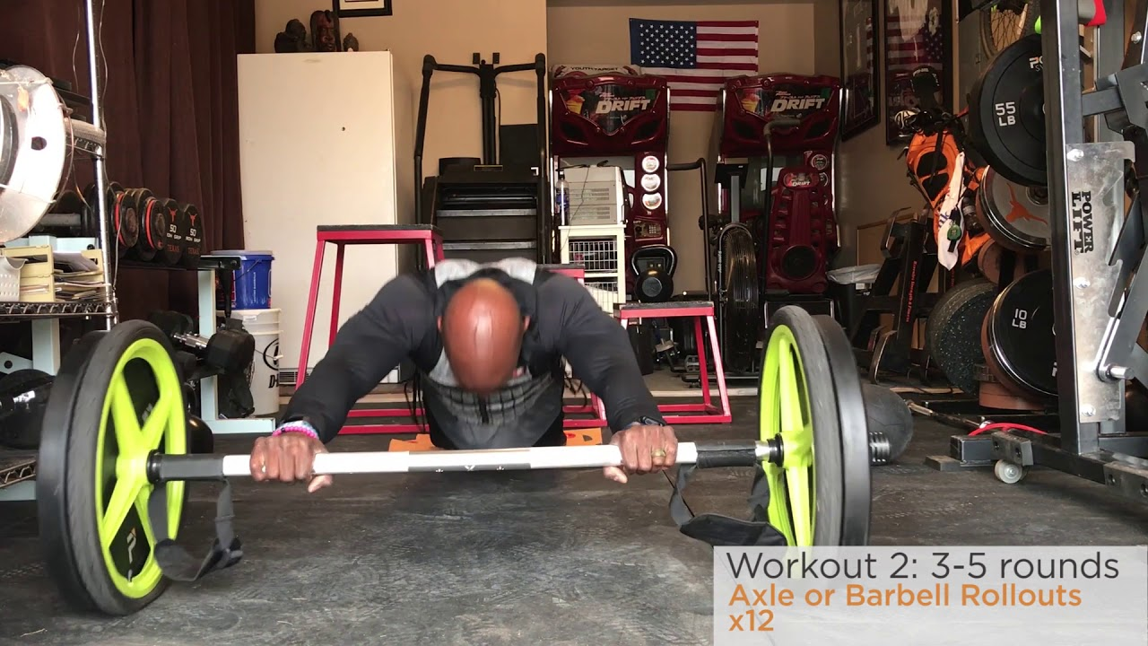 Garage workouts barbell berry