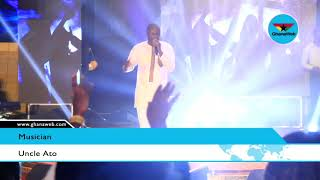 Uncle Ato performs at Gold Worship Concert