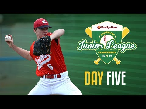 Bendigo Bank Australian Junior League Championship, DAY FIVE #AJLC2018