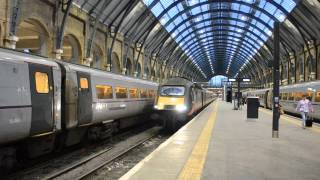 Grand Central Class 43 HST 43468 & 43467 Departs London King