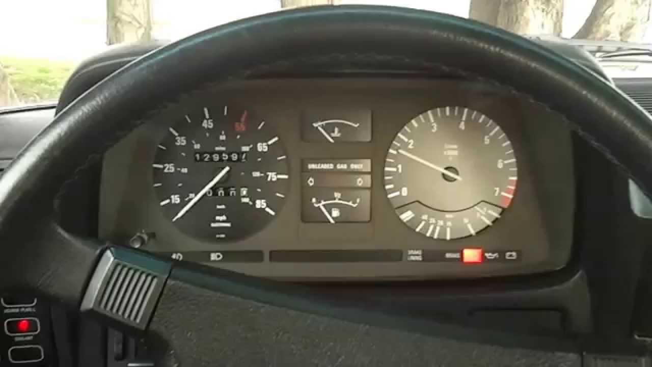 All BMW Models 1983 bmw 733i BMW 733i e23 Start up - YouTube