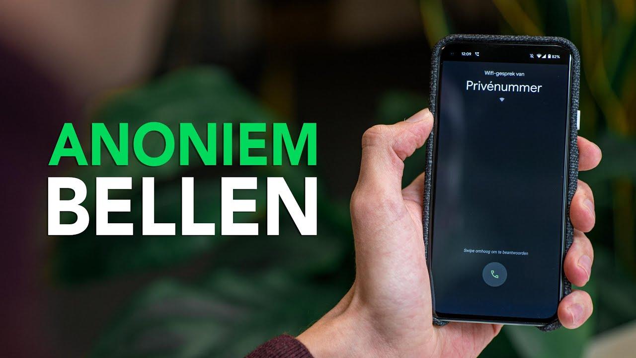 ¿Quieres llamar de forma anónima (una vez)?  Así es como lo configura fácilmente en su propio dispositivo