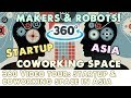 360 Video of a Startup  Maker and Coworking Space Community in Cambodia