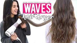 How to blowdry your hair to create waves | Patry Jordan