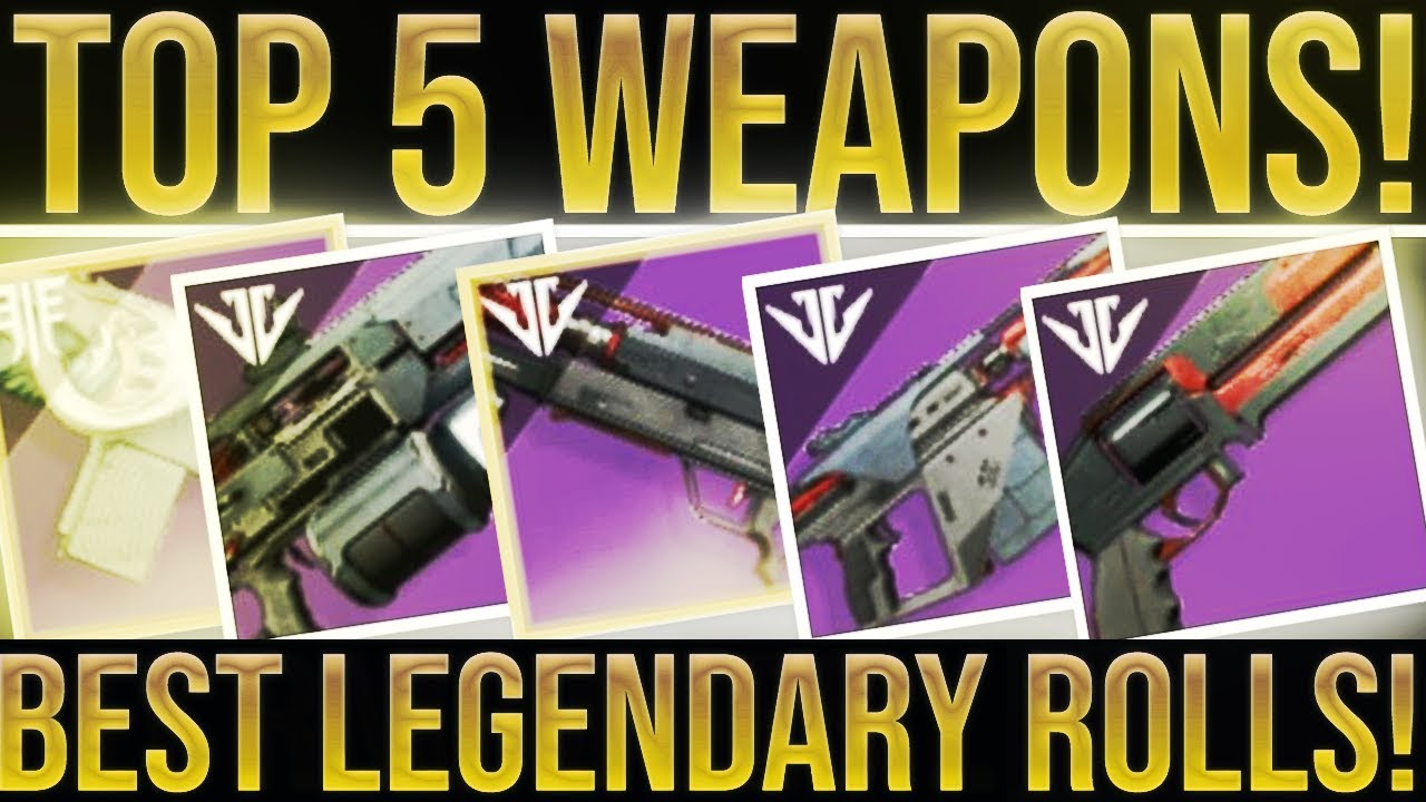 Destiny 2 best weapons 2019