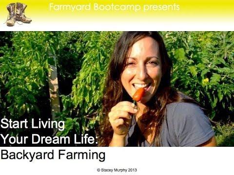 Become a Backyard Farmer