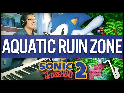 Sonic 2: Aquatic Ruin Zone Jazz Arrangement || insaneintherainmusic