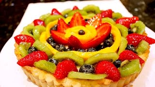 How To Make Bakery Style Fruit Tart | 法式鮮果撻