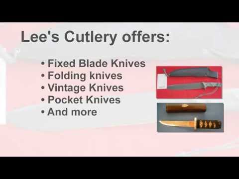 Lee's Cutlery - Knives for Work, Sport & Collecting