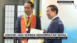 Presiden Jokowi Belajar Atasi Macet di Seoul, Korea Selatan