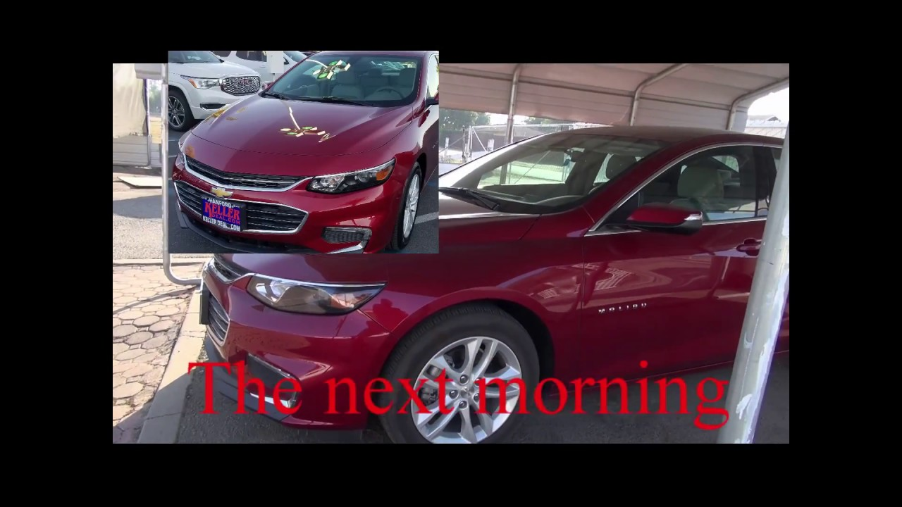 2017 malibu smoking from tail pipe on 10 12 17 youtube for Premium motors hanford ca