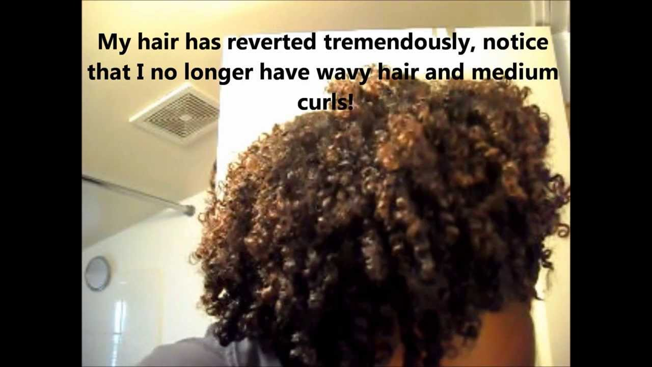 Texlaxing My Natural Curl Pattern Update 3 Months Post