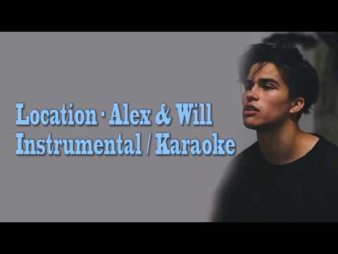 Location - Alex Aiono Ft  William Singe (Instrumental,Karaoke)  With Lyrics