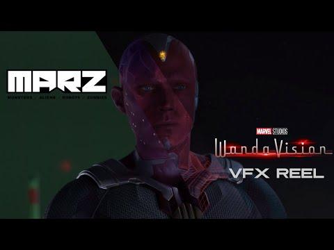 WandaVision VFX Reel — Vision   MARZ