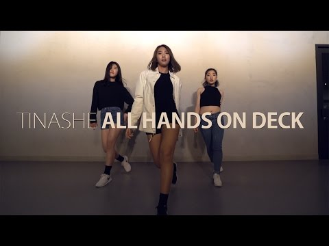 [Beginner Class] TINASHE - All Hands On Deck REMIX feat.lggy azalea / Choreography . K-LUCY