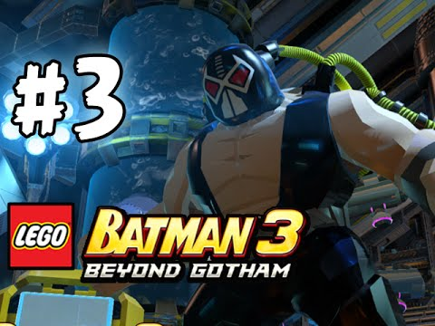 LEGO BATMAN 3 - BEYOND GOTHAM - LBA - EPISODE 3 (HD)