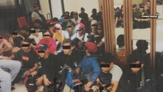 Video Cops arrest 45 youths in sex and drugs party on Deepavali download MP3, 3GP, MP4, WEBM, AVI, FLV November 2018