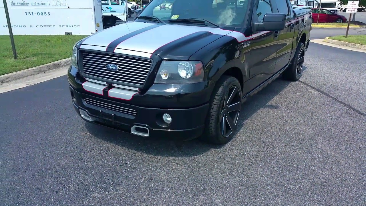 2008 ford f-150 roush edition