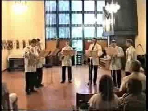 Milhaud - Cheminee du roi Rene - Soloists of Simcha Theater