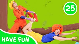 Funny stories with toys Bibi and Dim   La La Learn Kids Songs