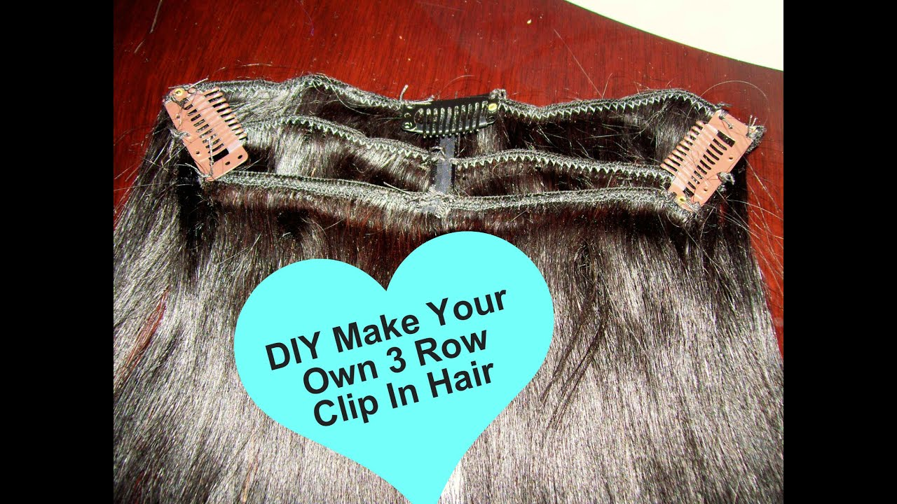 Diy make your own 3 layer row clip in extensions new york version diy make your own 3 layer row clip in extensions new york version youtube pmusecretfo Choice Image
