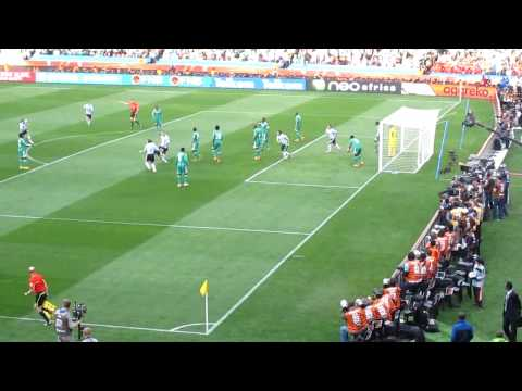 World cup 2010.Argentina vs Nigeria (1-0) -Goal
