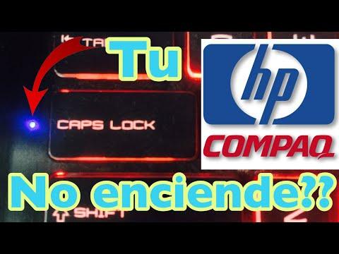 Solucionar luces de Bloqu Mayus en HP y Compaq