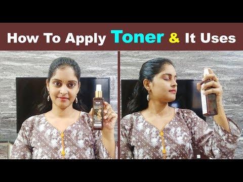 How To Apply Toner Correctly In Telugu   Uses/Benefits Of Toner In Telugu  Skin Care Routine Telugu