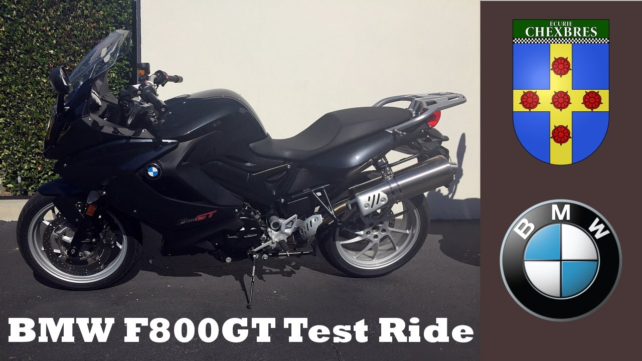 Bmw F800gt Test Ride And Review Youtube