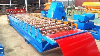 China 2017 corrugated iron roofing sheets price machine