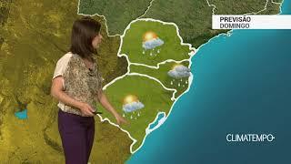 Previsão Sul – Chuva volumosa na fronteira com o Uruguai